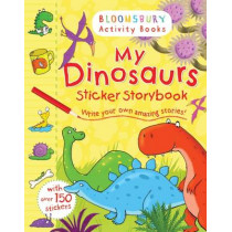 My Dinosaurs Sticker Storybook by Andy Rowland, 9781408847299