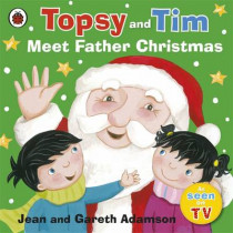Topsy and Tim: Meet Father Christmas by Jean Adamson, 9781409311591