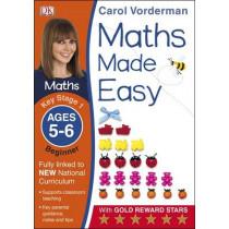 Maths Made Easy Ages 5-6 Key Stage 1 Beginner by Carol Vorderman, 9781409344766