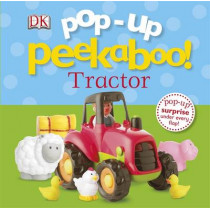 Pop-Up Peekaboo! Tractor by DK, 9781409349617