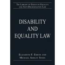 Disability and Equality Law by Michael Ashley Stein, 9781409448785
