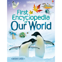 First Encyclopedia of our World by Felicity Brooks, 9781409514305