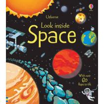 Look Inside Space by Rob Lloyd Jones, 9781409523383