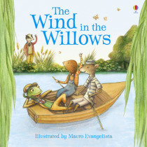 The Wind in the Willows picture book (new edition) by Lesley Sims, 9781409531401