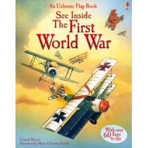 See Inside First World War by Rob Lloyd Jones, 9781409531708
