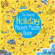 Holiday Pocket Puzzle Book by Alex Frith, 9781409550167