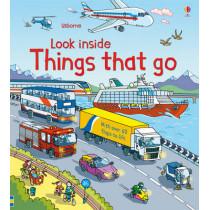 Look Inside Things That Go by Rob Lloyd Jones, 9781409550259