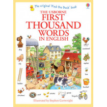 First Thousand Words In English by Heather Amery, 9781409562894