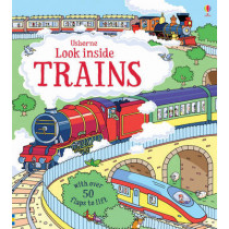 Look Inside Trains by Alex Frith, 9781409582083