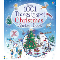 1001 Things to Spot at Christmas Sticker Book by Alex Frith, 9781409583349