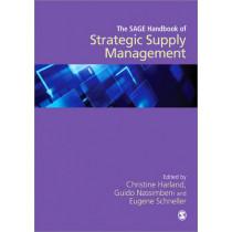 The SAGE Handbook of Strategic Supply Management by Christine Harland, 9781412924085