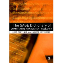 The SAGE Dictionary of Quantitative Management Research by Luiz A. M. Moutinho, 9781412935296