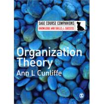 Organization Theory by Ann L. Cunliffe, 9781412935494