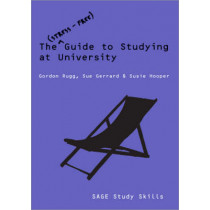 The Stress-Free Guide to Studying at University by Gordon Rugg, 9781412944939