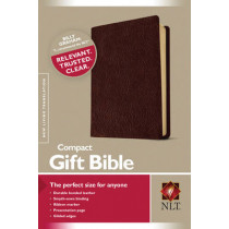 NLT Compact Gift Bible Bonded Leather Burgundy, 9781414301730