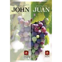 NLT Gospel Of John & NTV Evangelio De Juan Parallel, 9781414329802