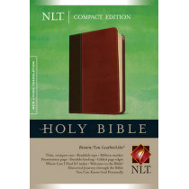 NLT Compact Gift Bible Bonded Leather Burgundy, 9781414397733