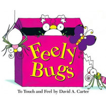 Feely Bugs (Mini Edition): To Touch and Feel by David A. Carter, 9781416903260