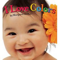 I Love Colors by Margaret Miller, 9781416978886