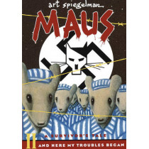 Maus a Survivors Tale: And Here My Troubles Begin by Art Spiegelman, 9781417816422
