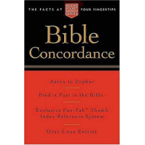 Pocket Bible Concordance: Nelson's Pocket Reference Series by Thomas Nelson, 9781418500177
