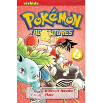 Pokemon Adventures (Red and Blue), Vol. 2 by Hidenori Kusaka, 9781421530550