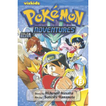 Pokemon Adventures (Gold and Silver), Vol. 13 by Hidenori Kusaka, 9781421535470