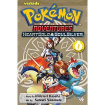 Pokemon Adventures: Heart Gold Soul Silver, Vol. 1 by Hidenori Kusaka, 9781421559001