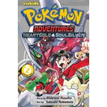 Pokemon Adventures: Heart Gold Soul Silver, Vol. 2 by Hidenori Kusaka, 9781421559018