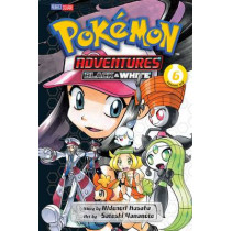 Pokemon Adventures: Black and White, Vol. 6 by Hidenori Kusaka, 9781421571812
