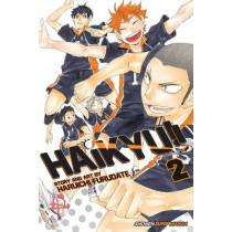 Haikyu!!, Vol. 2 by Haruichi Furudate, 9781421587677