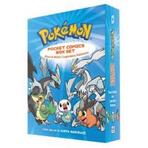 Pokemon Pocket Comics Box Set: Black & White / Legendary Pokemon by Santa Harukaze, 9781421589640