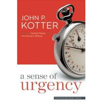 A Sense of Urgency by John P. Kotter, 9781422179710