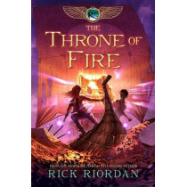 The Kane Chronicles, Book Two the Throne of Fire by Rick Riordan, 9781423140566