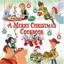 A Merry Christmas Cookbook by Disney Book Group, 9781423163220