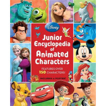 Junior Encyclopedia of Animated Characters by Disney Book Group, 9781423189145