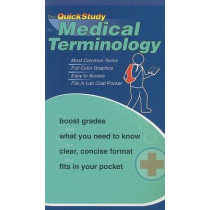 The QuickStudy for Medical Terminology by Corinne Linton, 9781423202608