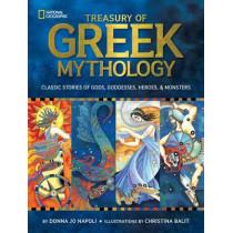 Treasury of Greek Mythology: Classic Stories of Gods, Goddesses, Heroes & Monsters (Mythology) by Donna Jo Napoli, 9781426308444