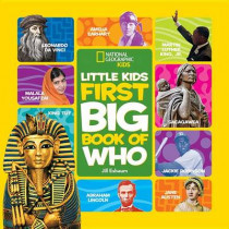 Little Kids First Big Book of Who (First Big Book) by National Geographic Kids, 9781426319174