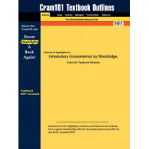 Studyguide for Introductory Econometrics by Wooldridge, Jeffrey M., ISBN 9780324113648 by Cram101 Textbook Reviews, 9781428810082
