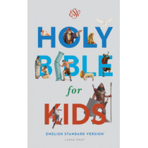 ESV Holy Bible for Kids, Large Print, 9781433550973