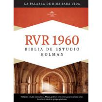 RVR 1960 Biblia de Estudio Holman, tapa dura con indice by B&H Espanol Editorial Staff, 9781433601774