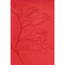 RVR 1960 Biblia Tamano Personal, capullos naranja simil piel, 9781433602047
