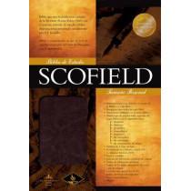 RVR 1960 Biblia de Estudio Scofield Tamano Personal, chocolate oscuro simil piel, 9781433602504