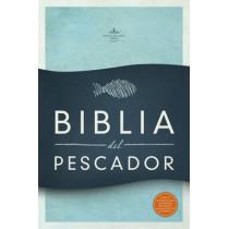 RVR 1960 Biblia del Pescador, negro piel genuina: Evangelismo Discipulado Ministerio by Luis angel Diaz-Pabon, 9781433606717