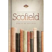 RVR 1960 Biblia de Estudio Scofield, verde oscuro/castano simil piel con indice, 9781433620218