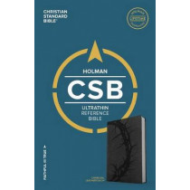 CSB Ultrathin Reference Bible, Charcoal LeatherTouch by CSB Bibles by Holman CSB Bibles by Holman, 9781433647550