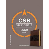 CSB Study Bible, Mahogany LeatherTouch by CSB Bibles by Holman CSB Bibles by Holman, 9781433648038