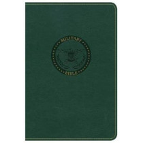 CSB Military Bible, Green LeatherTouch by CSB Bibles by Holman CSB Bibles by Holman, 9781433651762