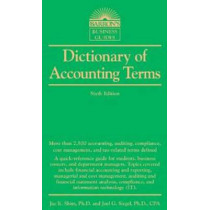 Dictionary of Accounting Terms by Dr. Jae K. Shim, 9781438002750